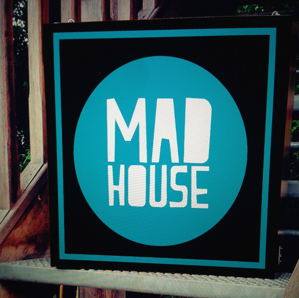 lightbox-mad-house - - custom wood framed light box