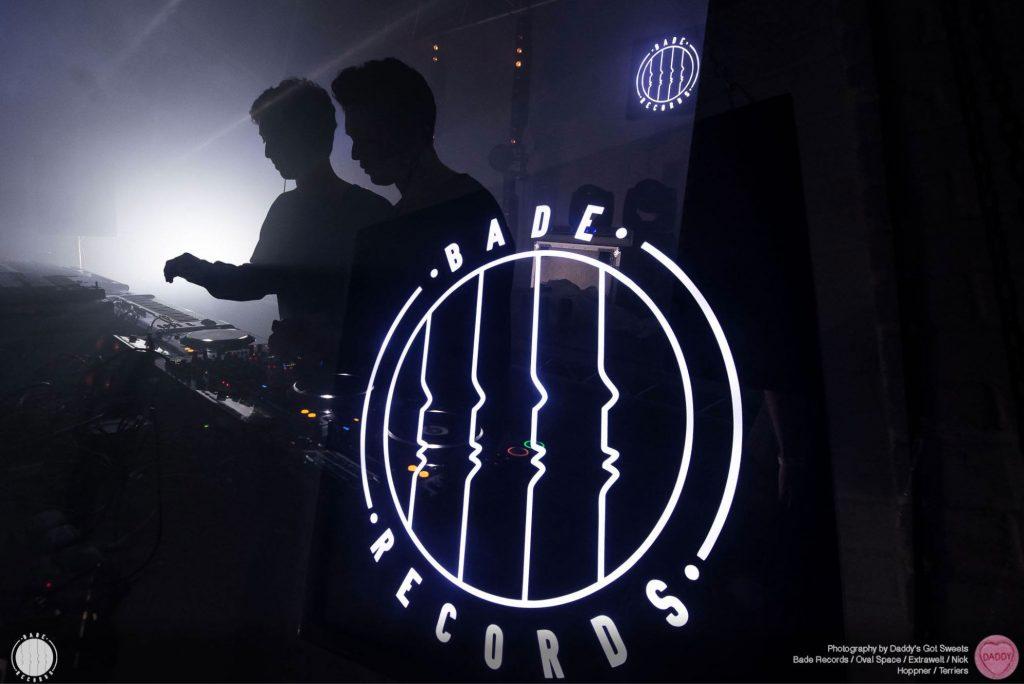 BADE Records custom light box design