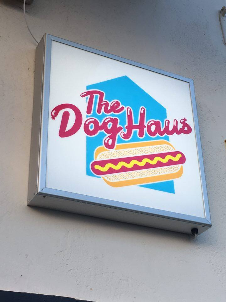 The Dog Haus - custom light box